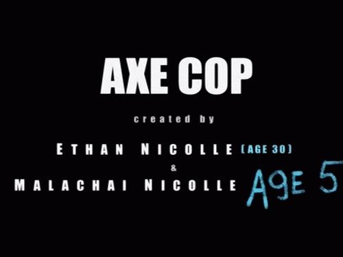 Axe Cop title card