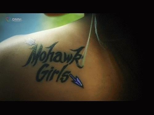 Mohawk Girls S1/S2 title card
